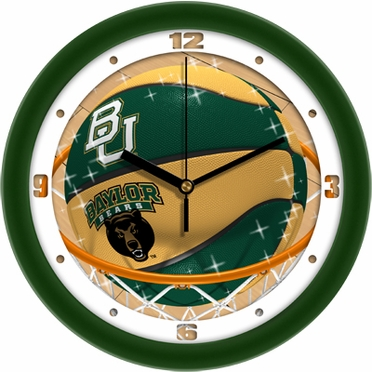 Baylor Slam Dunk Wall Clock
