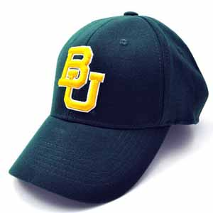 Baylor Team Color Premium FlexFit Hat - Small / Medium