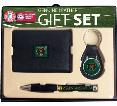 Baylor Trifold Wallet Key Fob and Pen Gift Set