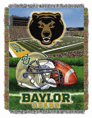 Baylor Woven Tapestry Throw Blanket