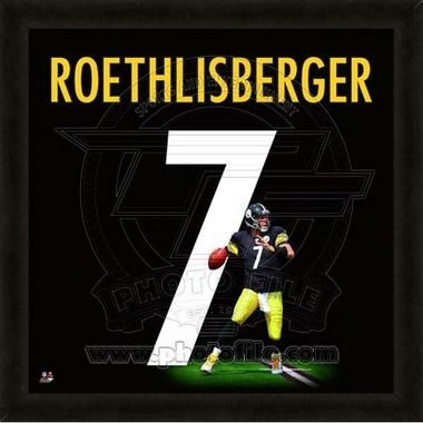 "Ben Roethlisberger, Steelers UNIFRAME 20"" x 20"""