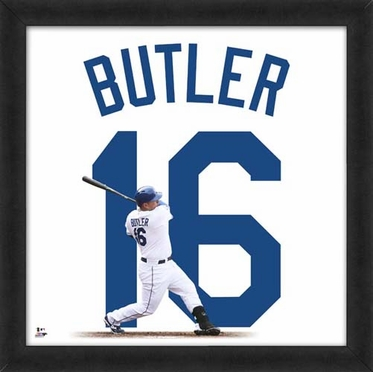 "Billy Butler, Royals UNIFRAME 20"" x 20"""