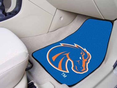 Boise State 2 Piece Car Mats