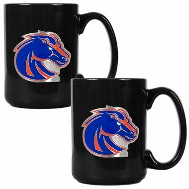Boise State 2 Piece Coffee Mug Set