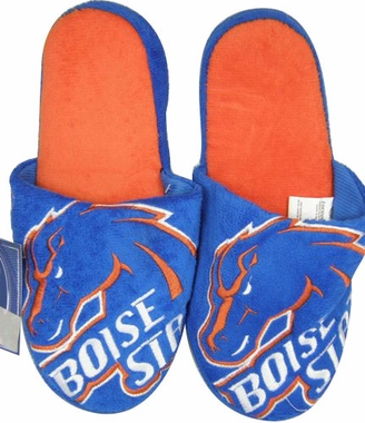 Boise State 2011 Big Logo Hard Sole Slippers (Two Tone)