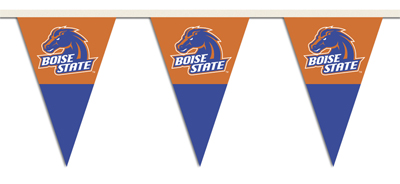 Boise State 25 Foot String of Party Pennants (P)