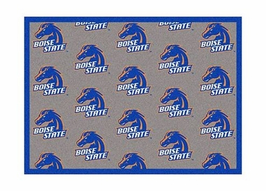 "Boise State 3'10"" x 5'4"" Premium Pattern Rug"