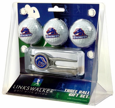 Boise State 3 Ball Gift Pack With Kool Tool