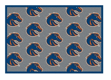 "Boise State 5'4"" x 7'8"" Premium Pattern Rug"