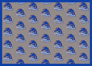 "Boise State 7'8 x 10'9"" Premium Pattern Rug"