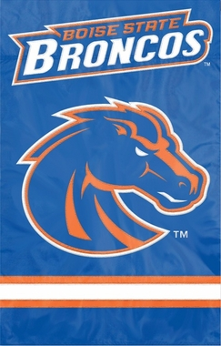 Boise State Applique Banner Flag