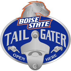 Boise State Bottle Opener Hitch Cover