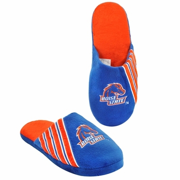 Boise State Broncos 2012 Team Stripe Logo Slippers