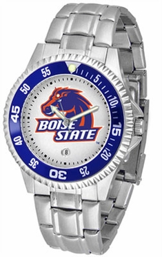 Boise State Competitor Men's Steel Band Watch