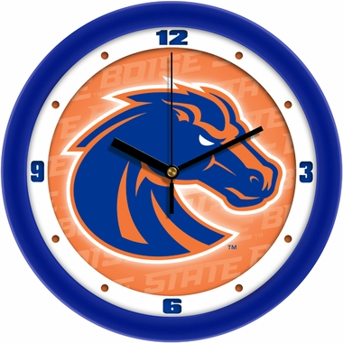 Boise State Dimension Wall Clock