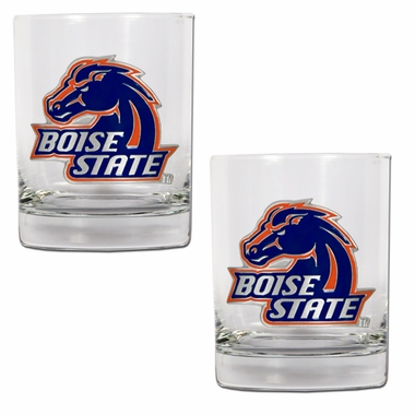 Boise State Double Rocks Set