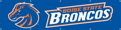 Boise State Eight Foot Banner