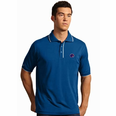 Boise State Mens Elite Polo Shirt (Color: Royal)