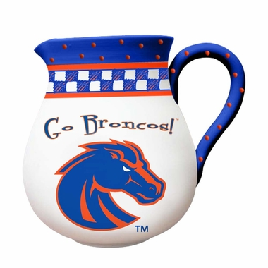 Boise State Gameday Ceramic Pitcher