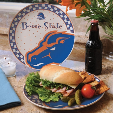 Boise State Gameday Ceramic Plate