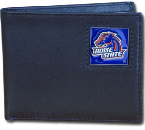 Boise State Leather Bifold Wallet (F)