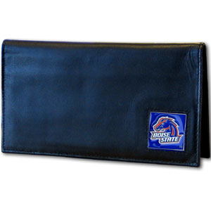 Boise State Leather Checkbook Cover (F)