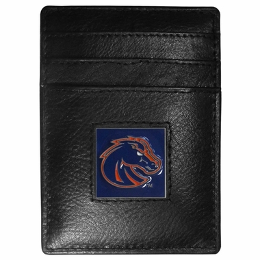 Boise State Leather Money Clip (F)