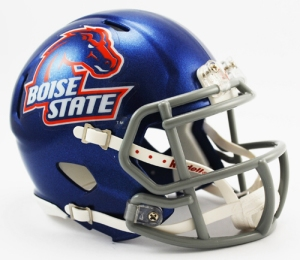 Boise State Broncos 2002-2012 Speed Mini Helmet