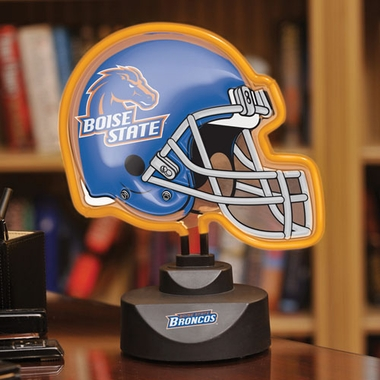 Boise State Neon Display Helmet