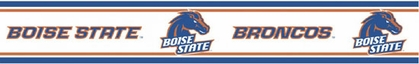 Boise State Peel and Stick Wallpaper Border