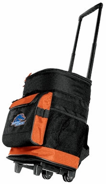 Boise State Rolling Cooler