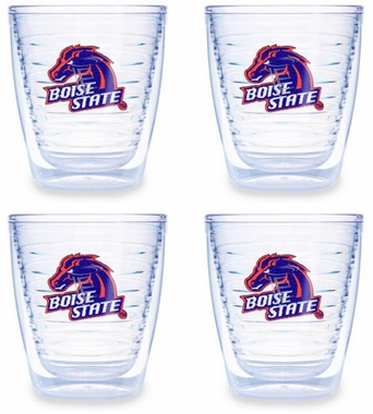 Boise State Set of FOUR 12 oz. Tervis Tumblers