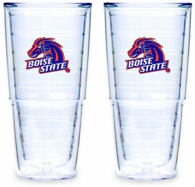 Boise State Set of TWO 24 oz. Tervis Tumblers