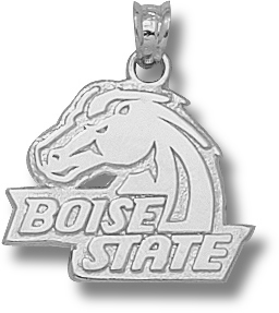 Boise State Sterling Silver Pendant