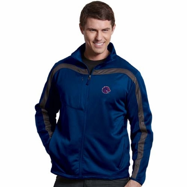 Boise State Mens Viper Full Zip Performance Jacket (Team Color: Royal)