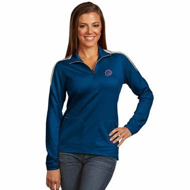 Boise State Womens Succeed 1/4 Zip Performance Pullover (Team Color: Royal)