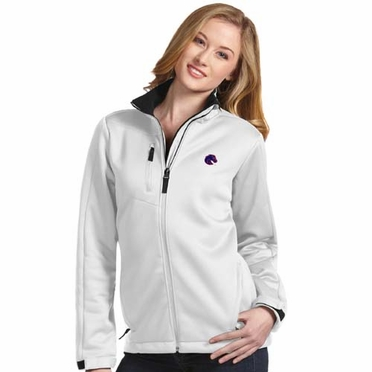 Boise State Womens Traverse Jacket (Color: White)