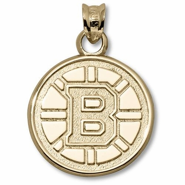 Boston Bruins 14K Gold Pendant