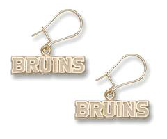 Boston Bruins 14K Gold Post or Dangle Earrings