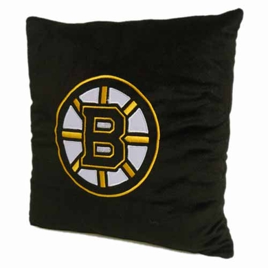 Boston Bruins 15 Inch Applique Pillow