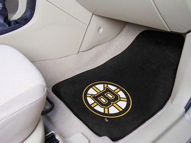 Boston Bruins 2 Piece Car Mats