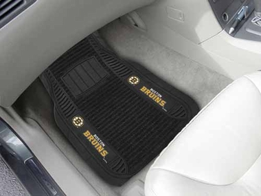 Boston Bruins 2 Piece Heavy Duty DELUXE Vinyl Car Mats