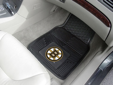 Boston Bruins 2 Piece Heavy Duty Vinyl Car Mats