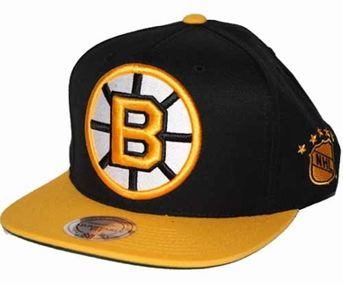 Boston Bruins 2-Tone Vintage Snap back Hat