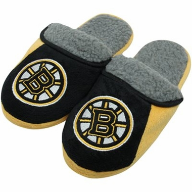 Boston Bruins 2012 Sherpa Slide Slippers