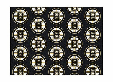 "Boston Bruins 3'10"" x 5'4"" Premium Pattern Rug"