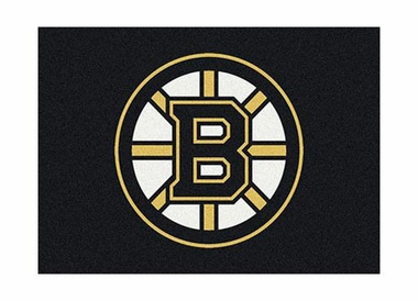 "Boston Bruins 3'10"" x 5'4"" Premium Spirit Rug"
