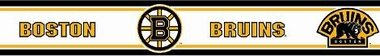 Boston Bruins 5.5 Inch (Height) Wallpaper Border