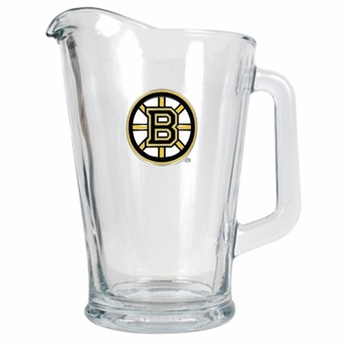 Boston Bruins 60 oz Glass Pitcher