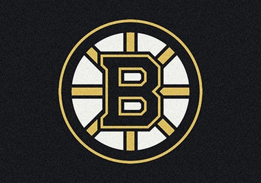 "Boston Bruins 7'8"" x 10'9"" Premium Spirit Rug"